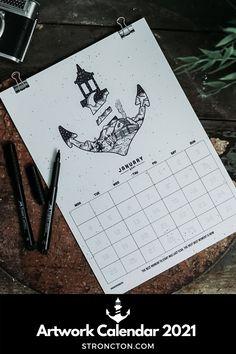 Der Kalender 2021 ist perfekt als Geschenk für Weihnachten. Jeden Monat ein detailliertes Stroncton Artwork, genug Platz für deine Termine / inspirierenden Spruch. Umweltschonendste Kalender / Digitaler Print. Versand per Mail / Kein Transport. Einfach hochwertige PDF Datei downloaden, ausdrucken / im Printshop deines Vertrauens. 1€ geht an THE STRONCTON FOUNDATION. Mehr Inspiration und Outfit Ideen, nachhaltige Mode und Accessoires findest du bei Stroncton im Online Shop #stroncton Monat, Digital Prints, My Design, Calendar, Motivation, Winter, Artwork, Wedding, Goals In Life