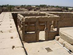 Denderah, temple d'Hathor (Période ptolémaïque et romaine) Kiosk du Nouvel An