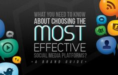 Infographic | Choosing The Most Effective Social Media Platforms