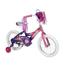 "Girls' 16 Inch Disney Princess Bike with Jewel Case -  Huffy - Toys""R""Us"