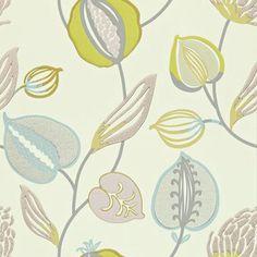 Tembok by Harlequin - Blue / Green / Lilac / Grey - Wallpaper : Wallpaper Direct Harlequin Wallpaper, Grey Wallpaper, Home Wallpaper, Fabric Wallpaper, Wallpaper Online, Bathroom Wallpaper, Modern Floral Wallpaper, Fabric Design, Pattern Design