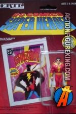 (Captain Marvel) figure from DC Comics and ERTL. Captain Marvel Shazam, Superman, Batman, Dc Comics Heroes, Metal Casting, Supergirl, Vintage Toys, Diecast, Old Fashioned Toys