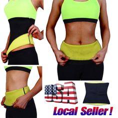e89d825944e8c Same day shipping neoprene waist trainer Belt Belly Body Shaper Slimming  power support Tuck Training posture Workout Waist Trainer Pregnant Woman  Postpartum ...