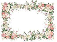 bordas florais - Pesquisa Google