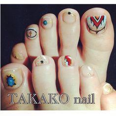 my nail #nail #左右非対称 #my_Design