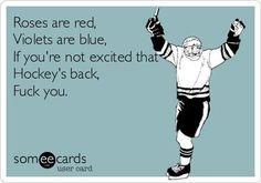 I wish hockey was back. Flyers Hockey, Hockey Memes, Hockey Quotes, Blackhawks Hockey, Hockey Players, Chicago Blackhawks, Funny Hockey, Sport Quotes, Hockey Baby
