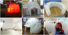 Recycling at its Finest: How to Build a Magnificent Milk Jug Igloo - DIY & Crafts
