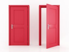 Comparison of door types: budget, choice assistance and information .- Comparatif de types portes : budget, aide au choix et informations Chi Garage Doors, Carriage Garage Doors, Tall Cabinet Storage, Locker Storage, When One Door Closes, Types Of Doors, Well Thought Out, Door Opener, Closed Doors