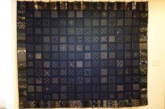 Sashiko by volunteers, 2012 - Textile Museum of Canada - DSC00807.JPG