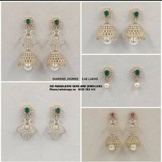 These Detachable Diamond Jewellery Designs Will Blow Your Mind! • South India Jewels Drop Earrings, Diamond Earrings, Diamond Jewelry, Quality Diamonds, Cool Designs, Blow Your Mind, South India, Ear Rings, Jewelry Collection
