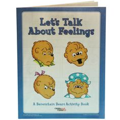 Berenstain Bears: Let's Talk About Feelilngs Activity Book [25 pack] product image