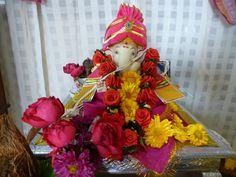 Welcome home, our beloved Dagdu. Ganeshotsav 2013.