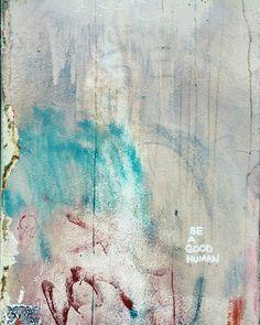 "New to LemonBranch on Etsy: Portland Graffiti - Be a Good Human 8"" x 10"" Fine Art Photography Wall Art Decor (22.00 USD)"