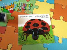 Mi Mundo sabe a Naranja: El Cuento Viajero... La Mariquita Malhumorada