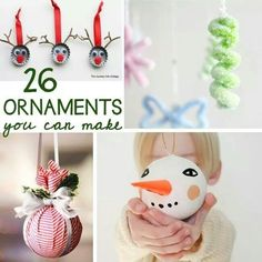 26 Ornaments to make