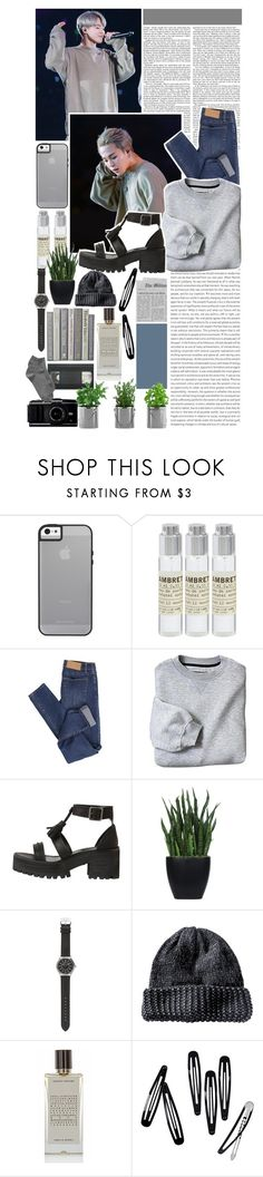 """« O3  .  youth  /  glass animals  . »"" by onejimin ❤ liked on Polyvore featuring Le Labo, Oris, Cheap Monday, Lux-Art Silks, J.Crew, Agonist, H&M and Gap"