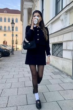 Adrette Outfits, College Outfits, Classy Outfits, Casual Outfits, Fashion Outfits, Preppy School Girl, Preppy Outfits For School, Over 40 Outfits, Airport Outfits