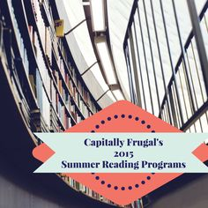2015 Summer Reading Programs