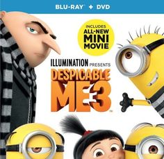 Get your family together because the family is back on Bluray & DVD from directors Eric Guillon, Kyle Balda and Pierre Cofflin along with Illumination Entertainment and Universal Pictures Home Entertainment with DESPICABLE ME 3.