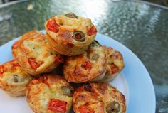 savoury pizza muffin thank you present Pizza Muffins, Savory Muffins, Thank You Presents, Toddler Meals, Shrimp, Nutrition, Yummy Food, Foods, Baking