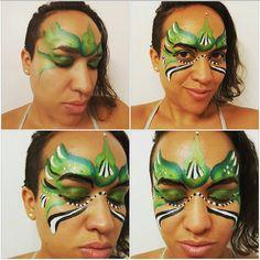 Tribal princess my original design . Princess Face Painting, Carnival, Nyc, Design, Princess Makeup, Carnavals, New York