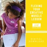 Flexing Your Creative Muscle Lesson - we believe creativity is a skill that can be taught! Help Teaching, Creative Teaching, Girl Scout Troop, Girl Scouts, Activities For Girls, Raising Girls, Student Council, School Programs, Creative Thinking