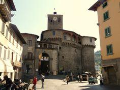 Castelnuovo di Garfagnana nel Toscana