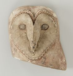 """didoofcarthage: """" freakyfauna: """" Barn Owl sculpture from ancient Egypt. """" Sculpture of a barn owl (Tyto alba) Egyptian (from Saqqara), Late Period or Ptolemaic Period, Bird Sculpture, Animal Sculptures, Owl Art, Bird Art, Egypt Museum, Owl Head, Ancient Egyptian Art, Ancient Aliens, Ancient Greece"""