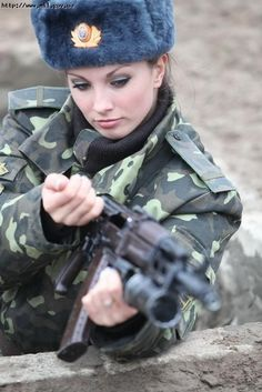 "Ukraine is known for being home to some of the most beautiful women in the world, and also these two. It seems the gene pool is so refined in Ukraine that even their soldiers and gorgeous, and the military must know it because every year they hold the ""Miss Trooper"" contest, a beauty pageant to determine the most ..."