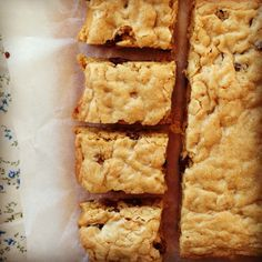 oat slice - I leave out the sugar but use dates and honey for added natural sweetness.