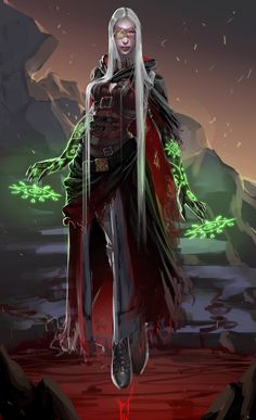 ArtStation - The witch, Braito .