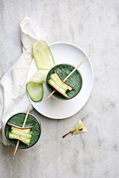 ... green goddess apple cucumber coconut water smoothie ...