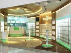 дизайн аптеки - pharmacy design