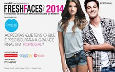 Apply to Fresh Faces #Portugal 2014 for your chance to win a Model contract with Central Models who also represents super Models such as the gorgeous Victoria's Secret Angel Sara Sampaio!