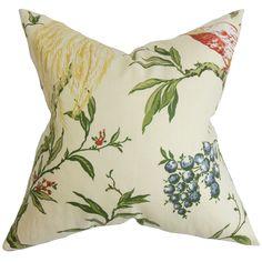 Giulia Floral Throw Pillow
