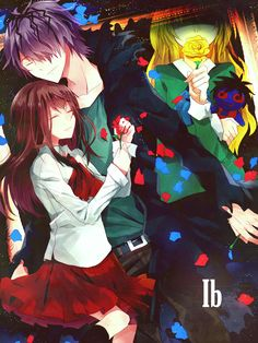 , IB is a RPG maker game. It has anime like structure. IB is a horror/romance game(not so much . Rpg, Rpg Horror Games, Mad Father, Game Art, Horror Game, Rpg Maker, Anime, Horror, Rpg Games