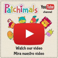 Take a look at our video for the app Patchimals - Shapes and colors.  // Te invito a ver nuestro video de la app Patchimals - Formas y colores.