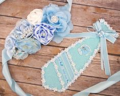 Badges and Pins 177758: Baby Shower Boy Corsage Maternity Belt Sash Mom Dad To Be Ribbon Tie Pin Set -> BUY IT NOW ONLY: $24.6 on #eBay #badges #shower #corsage #maternity #ribbon Baby Shower Sash, March Baby, Maternity Belt, Tie Pin, Corsage, Elena Of, Mom And Dad, Decorative Boxes, Marriage
