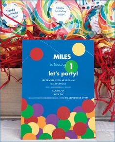 REAL PARTIES: Bouncy Ball Birthday // Hostess with the Mostess®