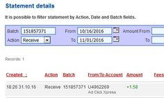 Ad Click Xpress - ACX paying all day and here is my payment Nr 116!NO SCAM HERE!!! THANKS ACX!! Here is my Withdrawal Proof from AdClickXpress.This is not a scam and I love making money online with Ad Click Xpress. AdClickXpress is the top choice for passive income seekers. Making my daily earnings is fun, and makes it a very profitable! I am getting paid daily at ACX and here is proof of my latest withdrawal.