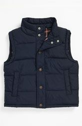 Tucker + Tate Flannel Lined Field Vest (Toddler)