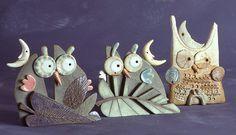 ceramiche artistiche gufi - Cerca con Google