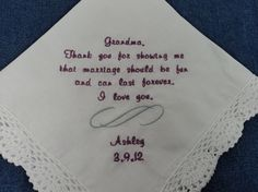 I got one something like this from Andrea on her wedding day. It did call me Favorite Aunt