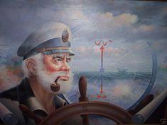 Умопомрачительные море капитан оригинал или на карте капитан 1987 Живопись