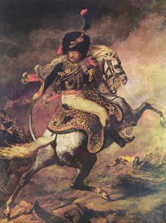 Théodore Géricault / Title: An Officer of the Imperial Horse Guards Charging Date: 1812 Medium: oil on canvas Height: 349 cm in). Width: 266 cm in). Napoleon Painting, Pick Art, Famous Artwork, Greek Art, Oeuvre D'art, Oil On Canvas, Fine Art Prints, Poster Prints, Horses