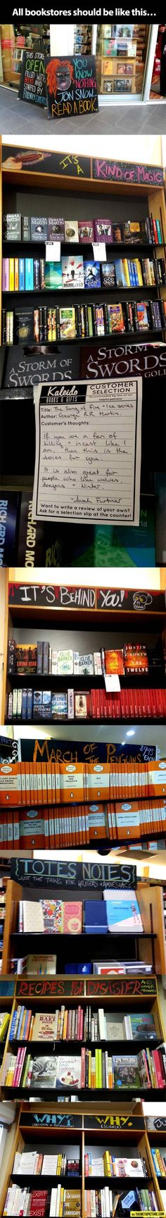 A very special bookstore...