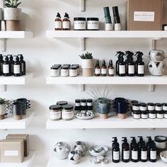 Paris, Prada, Pearls, Perfume Showroom, Tienda Natural, Spa Interior Design, Craft Booth Displays, Retail Shelving, Soap Display, Oil Shop, Candle Shop, Retail Design