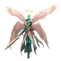 Planetar Angel - Pathfinder PFRPG DND D&D 3.5 5th ed d20 fantasy