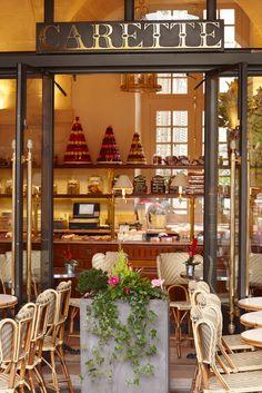 Salon de Thé Carette ~ one of the prettiest pasterries in Paris, France