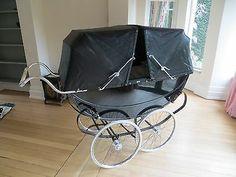 Millson Coach Built twin Pram | eBay
